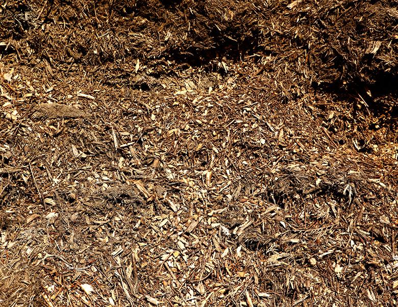 Kompost Erden Nord – Laub-Nadel-Holz-Mulch als Abdeckmaterial